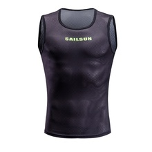 Cycling Jersey Warm Mesh Cycling Vest