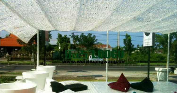 VILEAD 2M x 10M (6.5FT x 33FT) Snow White Digital Camouflage Net Military Army Camo Netting Sun Shelter Sun Shade Sail Tent