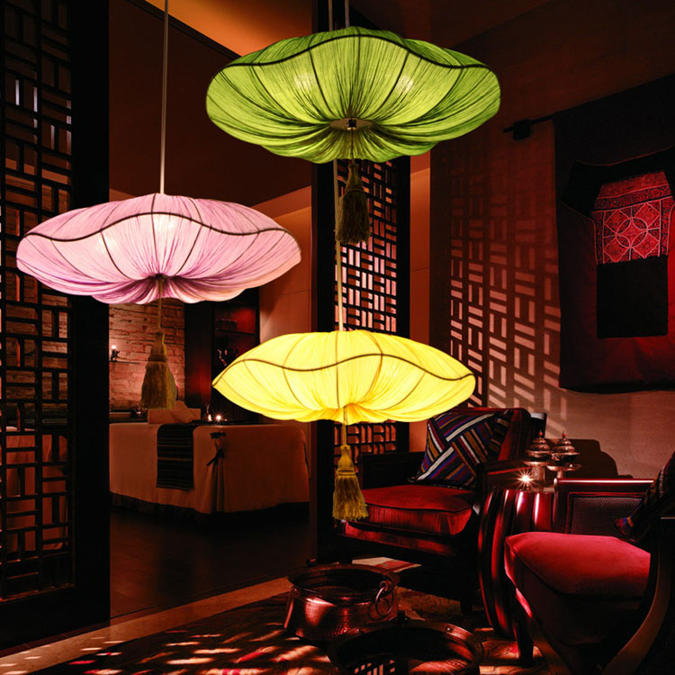 Parachute Pendant Light Marine Pendant Light Fabric Lamp