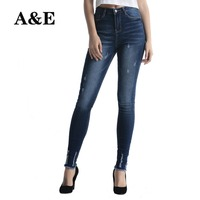 Alice Elmer Stretch Skinny Jeans Woman Jeans For Girls Jeans Women Mid Waist Jeans Female Pants