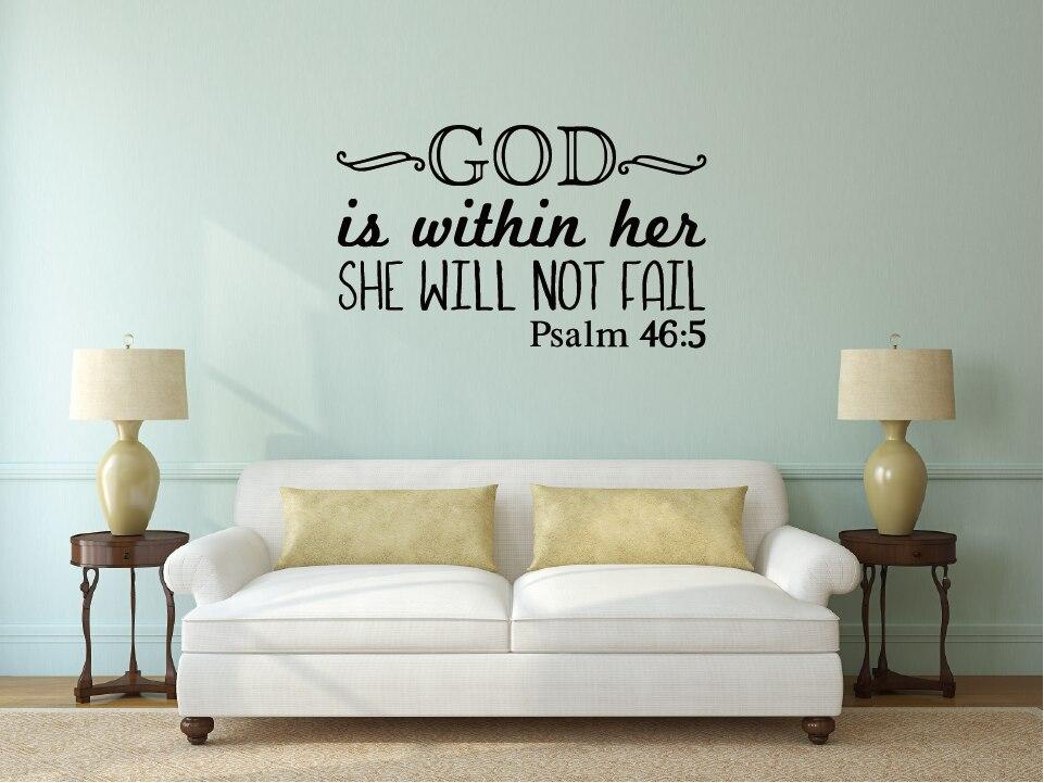 El Salmo 46 5 Dios Está Dentro De Ella