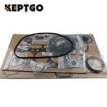 for Kubota V1902 Overhaul Engine Full Gasket Set Kit 07916-24305, 07916-29615, 15808-03310