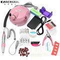 Professional Electric 30000 RPM Nail File Bits Drill Machine Kits Painting Brush Sanding Nails Art Manicure Set  Beauty Tools