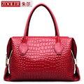 ZOOLER улучшенный натуральной кожи женщины сумка роскошные кожаные сумки верхнюю ручку Классический сумки разработаны bolsos #3211