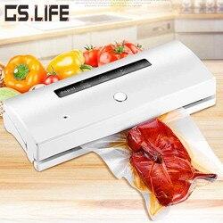 New Household Commercial Vacuum Sealer 100V-240V Dry/Wet/Oil /Powder Food Vacuum Sealing Machine Kitchen Food Packing Machine