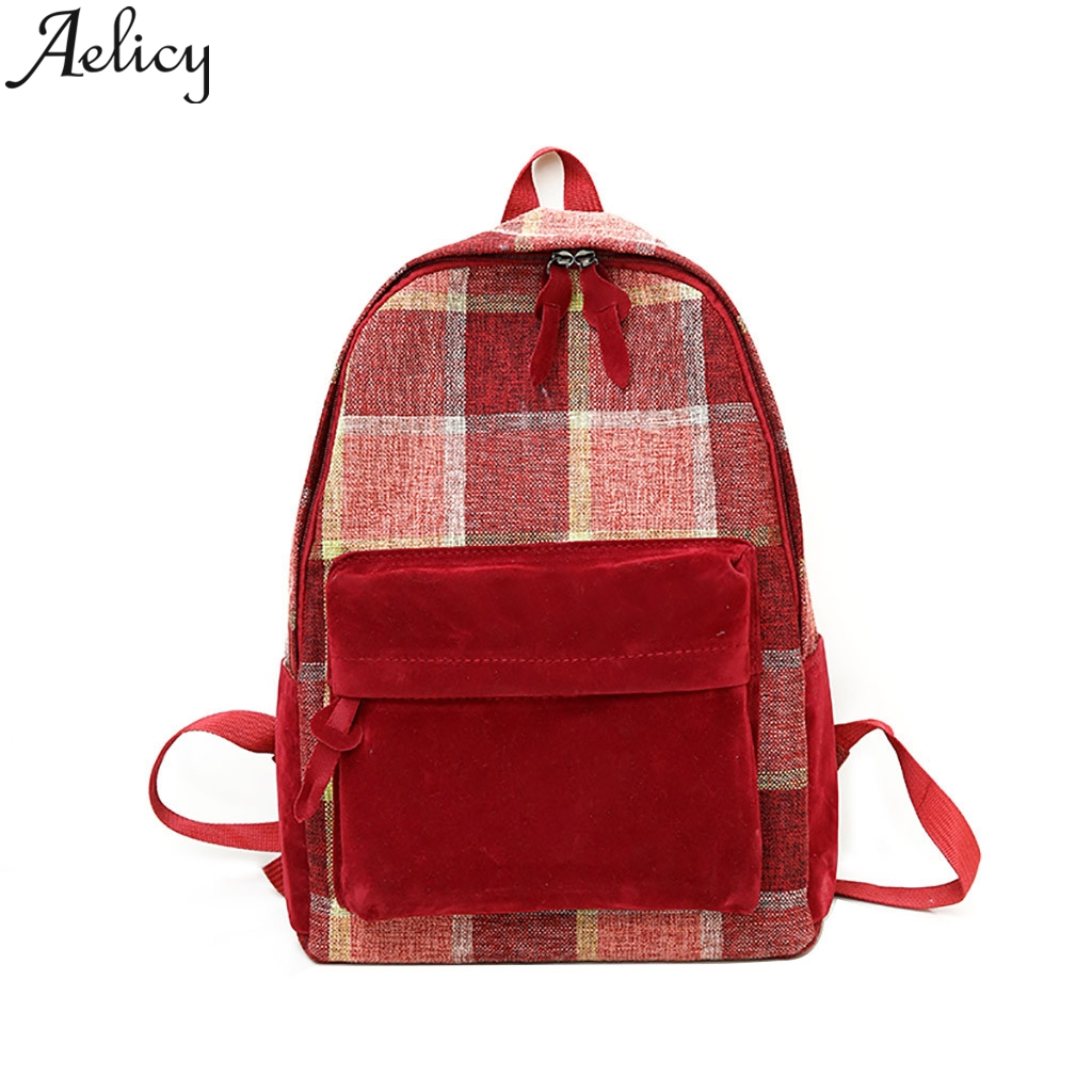 Aelicy 2019 Women Canvas Bag Retro Junior High School Student Backpack Schoolbags For Teenagers Student Bags Notebook TravelAelicy 2019 Women Canvas Bag Retro Junior High School Student Backpack Schoolbags For Teenagers Student Bags Notebook Travel