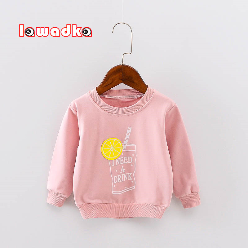 Lawadka Band Sport Baby Girls Boys T-shirt Long Sleeve T Shirts For Boys Cotton Children Clothes