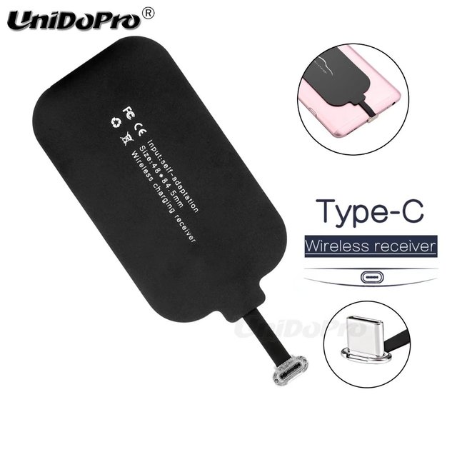UNIDOPRO Qi Wireless Charger Receiver for Xiaomi Mi 6X A1 5X Mix 2 6 5 5S  Redmi Pro Ti Chipset Wireless Charging Adapter Pad