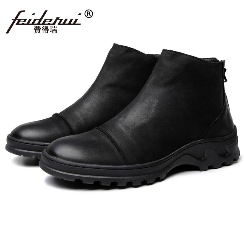 New Vintage Man High-Top Platform Shoes Genuine Leather Round Toe Footwear Handmade Mens  Riding Ankle Boots JS242New Vintage Man High-Top Platform Shoes Genuine Leather Round Toe Footwear Handmade Mens  Riding Ankle Boots JS242