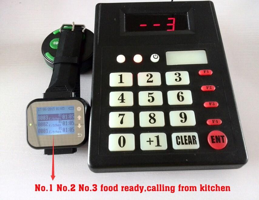 Restaurant Kitchen Order System aliexpress : buy smart watch restaurant order kitchen