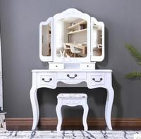 Dresser.. The bedroom white makeup table