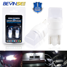 Bevinsee T10 T8 T12 194NA 161 558 LED Light Bulbs Parking Turn Signal Bulb For Ford F-150 Car Dome Lamp 835-SMD Chips