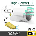Мини Wi-Fi VAP11G-500 300 Мбит Высокой мощности WiFi Ретранслятор Сети Открытый Беспроводной 500 Метров Сильный Охват Ретранслятор/Мост