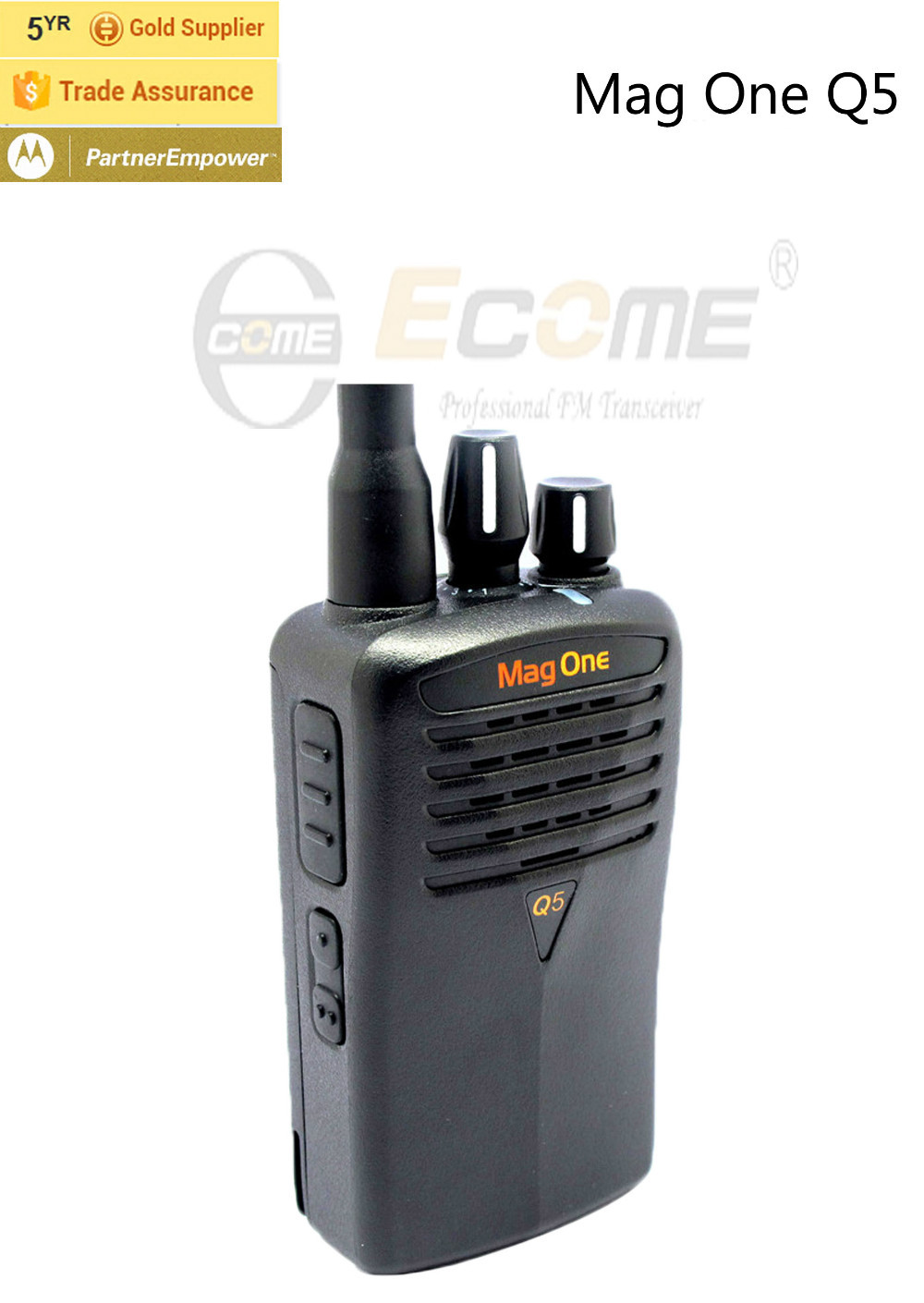 Us 1800 High Quality Intercom Handy Walkie Talkie Motorola Mag One Q5 In From Cellphones Telecommunications On Alibaba Group