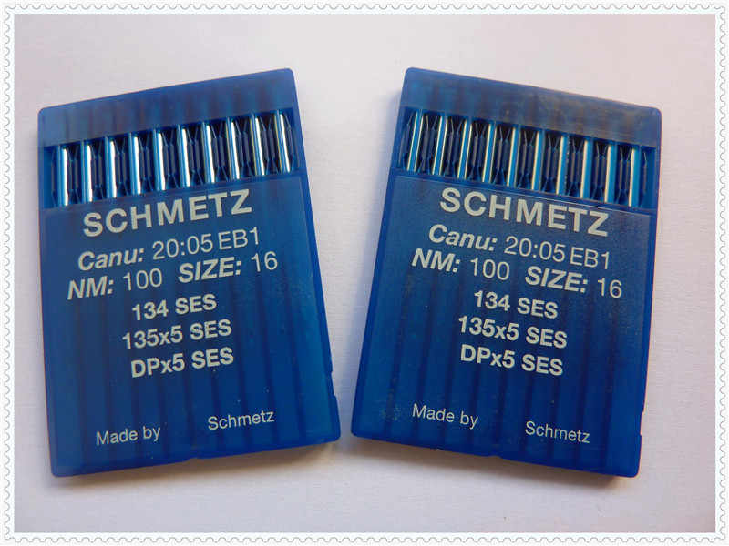 SCHMETZ Sewing Machine Needles, DPx5 SES,135x5 SES,134 SES,20 Pcs/Lot, For Double Needles Industrial Bartack Sewing Machines!