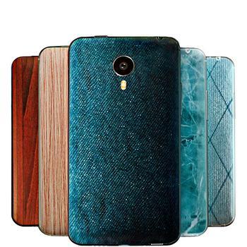 Neue Design Mode Batterie Zurück Abdeckung Fall für Meizu mx4 pro Handy 3D Relief Persönlichkeit Textur Batterie Zurück Abdeckung fall