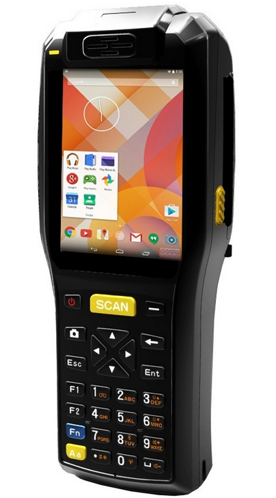 Fingerprint 4G LTE Wireless Handheld Biometric Pos Terminals With Printer