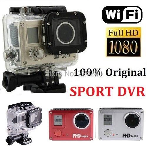 Original SJ5000 Full HD 1080P WIFI Sport Action Camera 20MP mini camcorder 170Wide Angle 60M Waterproof DVR go pro style camera - Yama Electronics Co., Ltd. store