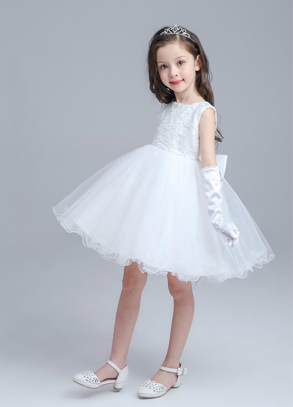 Baby Girl Birthday Wedding Party Formal Flower Girls Dresses Little ...
