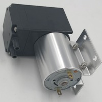 65kpa vacuum 5L/Min brush 12v 24v dc pump