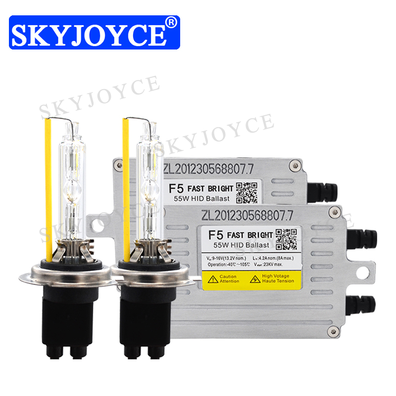 SKYJOYCE AC 12V 55W Original DLT F5T FAST Start HID Ballast 35W Original HeartRay H1 H7