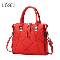 AOYI Women Casual Tote Fashion Network Designer PU Leather Handbag Ladies Large Shoulder Crossbody Messenger Bag