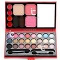 33 Colores de Maquillaje Paleta de Sombra de Ojos de la Ceja Fundación Colorete brillo de Labios Caso