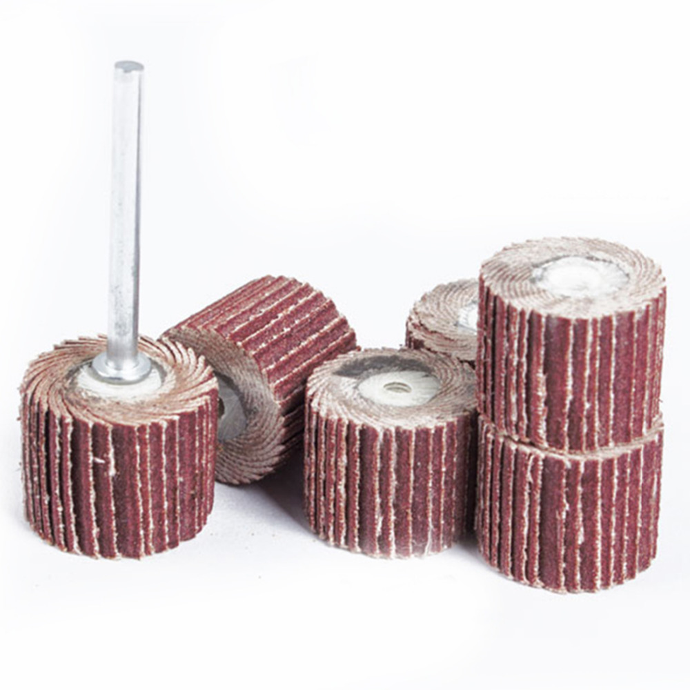 10ks 12mm brusný papír brusný kotouč na dřevo dremel brusné - Brusné nástroje - Fotografie 2