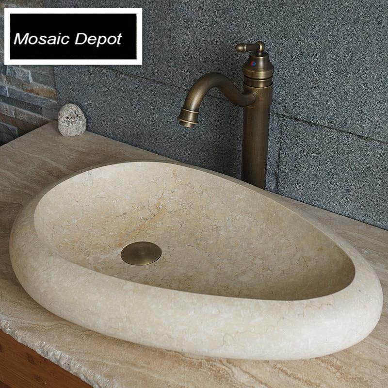 acquista all'ingrosso online pietra di granito lavelli da ... - Bagno Lavabo In Pietra Trogolo