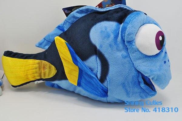 Оригинальный фильм «в поисках Дори» Симпатичные Blue Fish вещи плюшевые игрушки ребенка подарок на день рождения