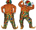 Hot Sale Funny Clown Costume Adults Clown Cosplay Costume in lower Price
