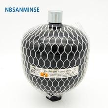 NBSANMINSE GXQ 1.4L ~ 2.8L Diaphragm Accumulator Laser Welding High Pressure Vessels Flexible For Hydraulic power unit
