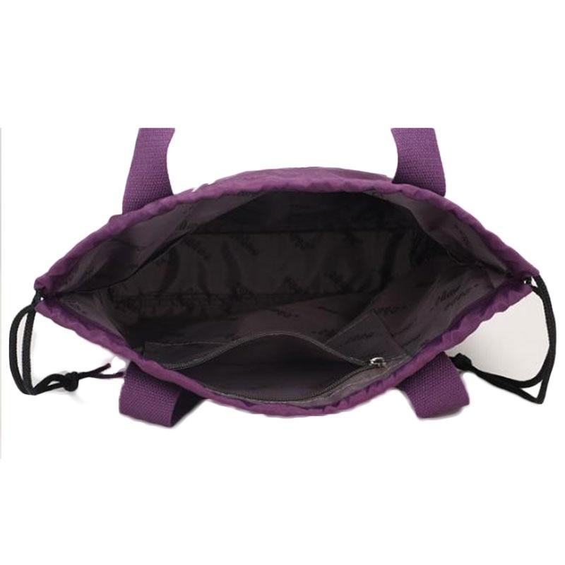 2018 Womens Handbags Casual Ladies Shoulder Bags Nylon Tote Famous Brand Top-Handle String Waterproof Travel ShoulderBags JQ264