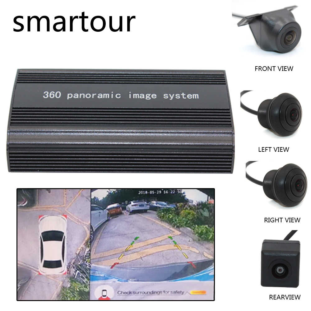 360 surround observation system 4 HD camera HD car DVR 2D parking assist360 driving recorder