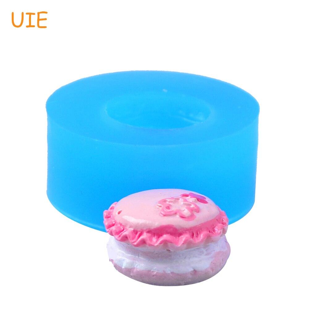 Бесплатная доставка GYL375U крем чувствовал торт силиконовые формы с цветами Фондант Еда безопасный полимерной глины Смола ювелирные изделия ...