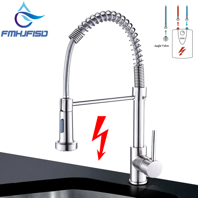 low pressure kitchen faucet newest pull out brass low pressure kitchen faucet brushed nickel deck kitchen mixer tap 360 7483