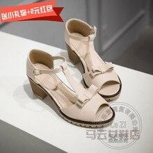 ทุกวันผู้หญิงรองเท้าส้นสูงP Eep Toeหวานผู้หญิงPuเปิดนิ้วเท้าร้อนขายเด็กG Rilผีเสื้อหนังPuนุ่ม