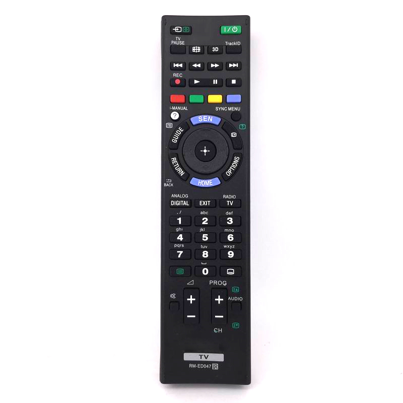 New General RM-ED047 Remote Control For Sony KDL-32HX757 KDL-46HX853 Bravia TV Free Shipping chunghop rm l7 multifunctional learning remote control silver