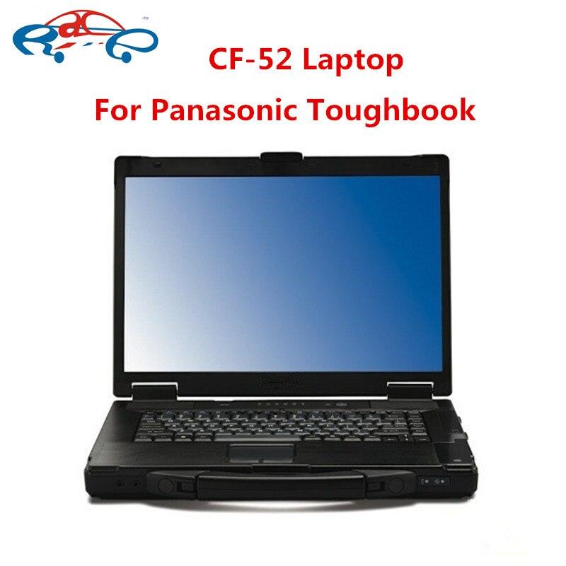 CF52 диагностический компьютер используется высокое качество для Panasonic Toughbook CF-52 4g ноутбук с HDD для звезды mb c3 c4 c5 icom a2 инструмент