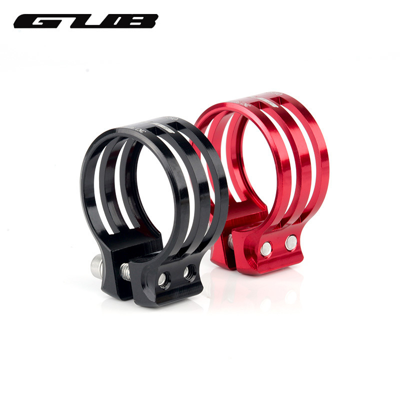 GUB  31.8mm 34.9mm 37mm Bicycle Seat Post Clamp Aluminum Mountain Bike Seatpost Clamps Cycling Clamping Carbon Frame