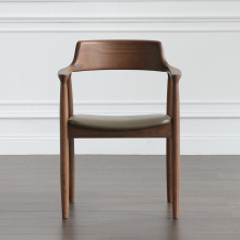 Скандинавский деревянный стул Хиросима стул дизайнерский стул президента современный минималистский столовая кресло