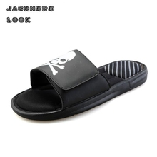 5 Colors Male Slippers Fashion Casual Beach Shoes Breathable Hook Loop Shoe Indoor Outside Comfortable Flip