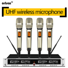UHF wireless microphone system lavalier microphone handheld professional stage performance conference microphone все цены