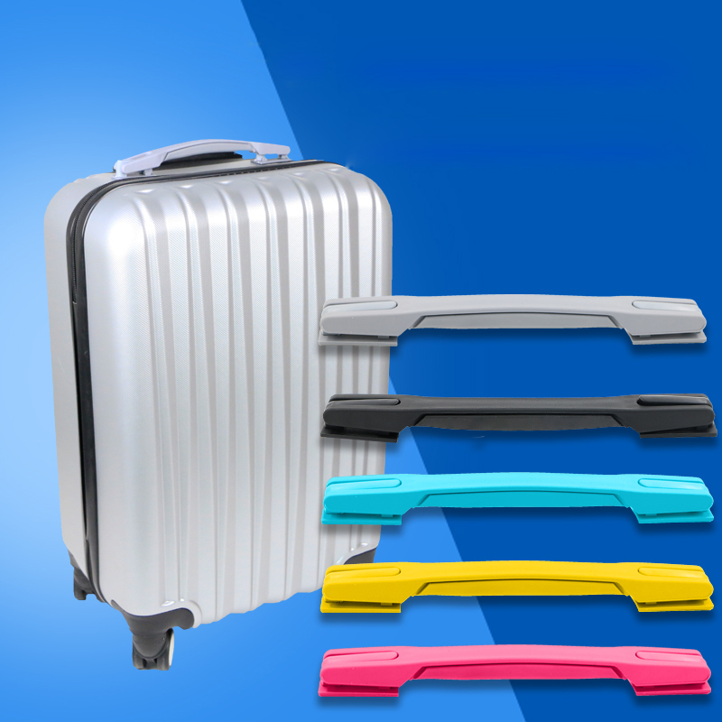 Alert Replacement Luggage Handle Holders Suitcases Black Spare Strap Handle High Quality Traveling Bag Box Repair Parts B110 Luggage & Bags