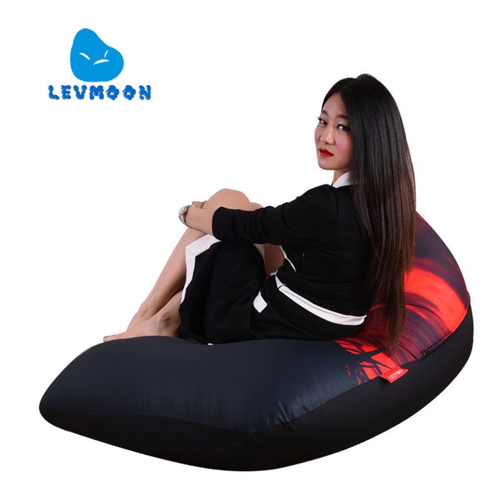 LEVMOON Beanbag Sofa Chair Shell Revenge Seat Zac Comfort Bean Bag Bed Cover Without Filler Cotton Indoor Beanbag Lounge Chair levmoon beanbag sofa chair viking seat zac shell comfort bean bag bed cover without filler cotton indoor beanbag lounge chair
