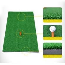 30x60cm 30x90cm Indoor Outdoor Golf Practice Mat With TEE For Backyard Training Golf Mat Golf Hitting Grass Drop Shipping Accept все цены