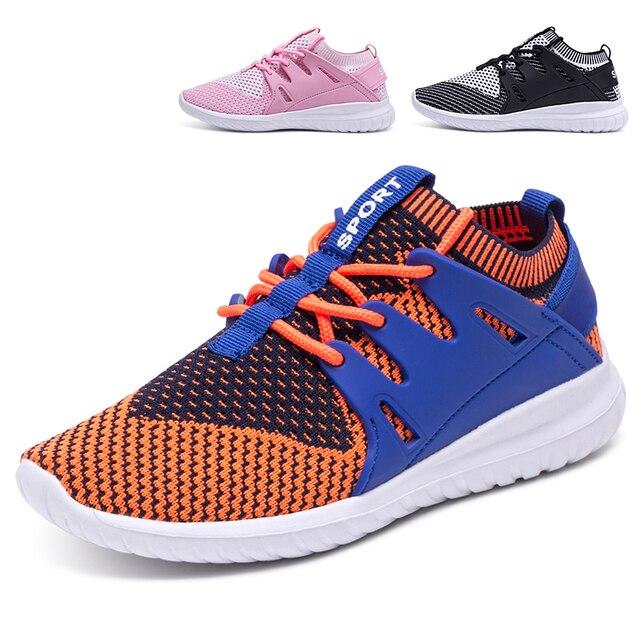 565bf2bdea 17 Kinder Schuhe Mädchen Jungen Sportschuhe Antislip Weichen Boden Kinder  Fashion Sneaker Atmungsaktivem Mesh beinlinge mund