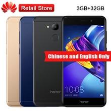 "Huawei Honor V9 Jouer JMM-AL00 3 GB RAM 32 GB ROM Octa Core 5.2 ""MT6750 Android 7.0 4G LTE 13MP 3000 mAh D'empreintes Digitales Mobile téléphone"