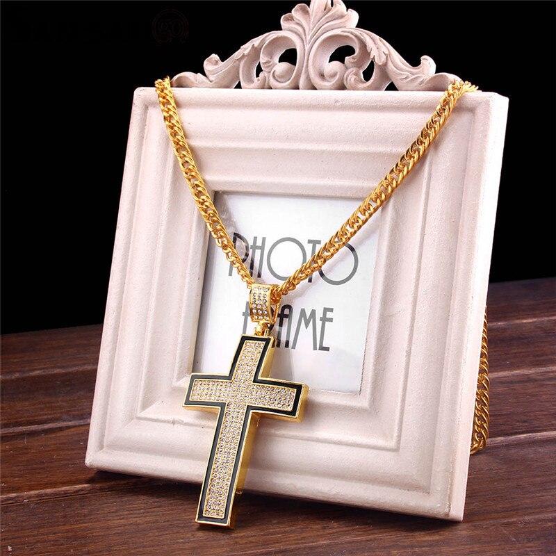 f400c82d52ac ONEVAN nuevo Cristal de lujo CZ corazón colgante gargantilla collar 925 plata  esterlina cadena collares para