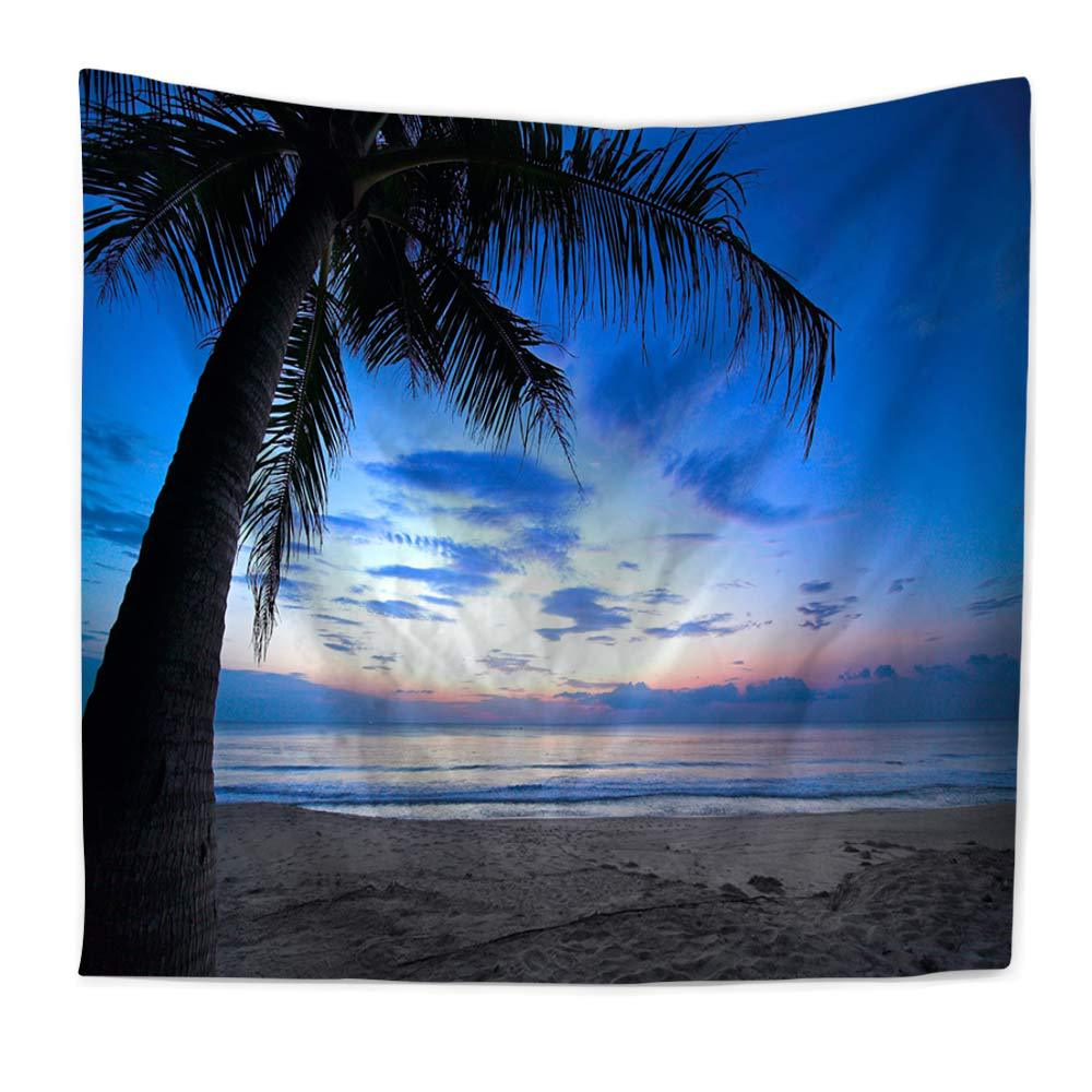 Zeegle Hawaii Sea Beach Painting Wall Hanging Tapestry Modern Home Room Decor Sofa Chair Cover Fashion Beach Towel Pinic Mats